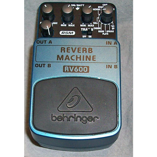 Behringer RV600 Reverb Machine Effect Pedal