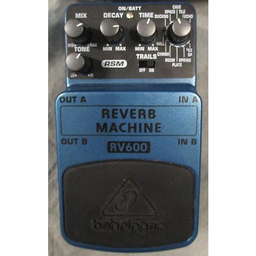 Behringer RV600 Reverb Machine Effect Pedal-thumbnail