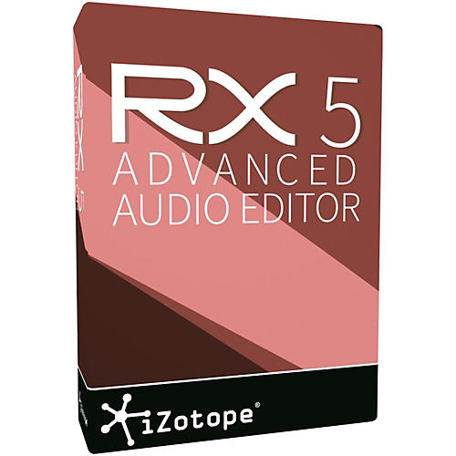 iZotope RX 5 Advanced Software Download-thumbnail