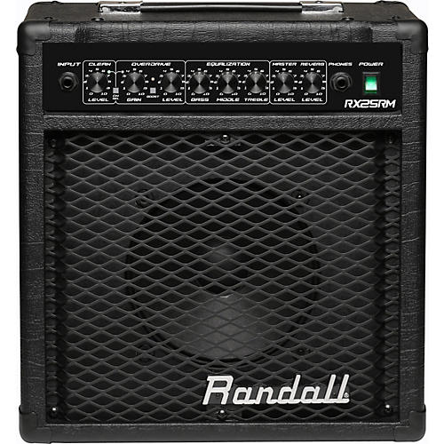 Randall RX Series RX25RM 25W 1x10 Guitar Combo Amp