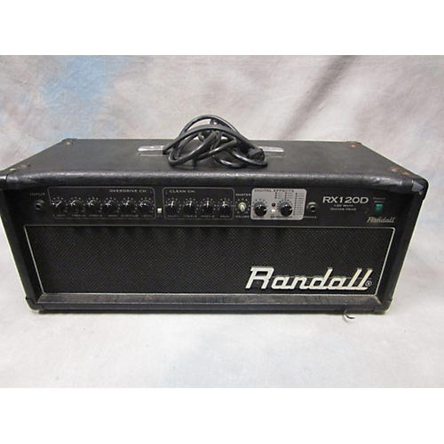 used randall rx120d solid state guitar amp head guitar center. Black Bedroom Furniture Sets. Home Design Ideas