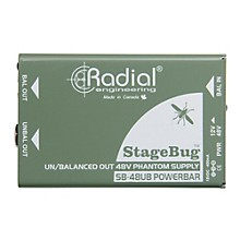 Radial Engineering Radial Engineering SB-48UB Phantom Power Supply for Instrument Microphones