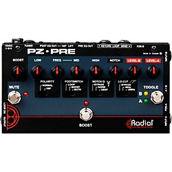 Radial Engineering Tonebone PZ-Pre Acoustic Direct Box Preamp (R800-7085)