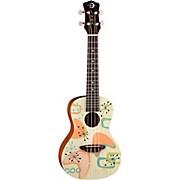 Luna Guitars Radioactive Concert Ukulele