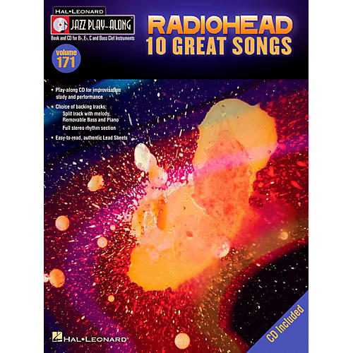 Hal Leonard Radiohead - Jazz Play-Along Volume 171 Book/CD-thumbnail
