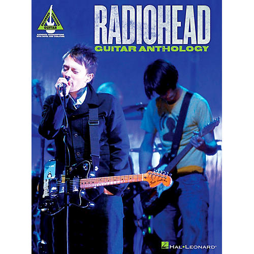 Hal Leonard Radiohead Guitar Anthology Guitar Tab Songbook-thumbnail
