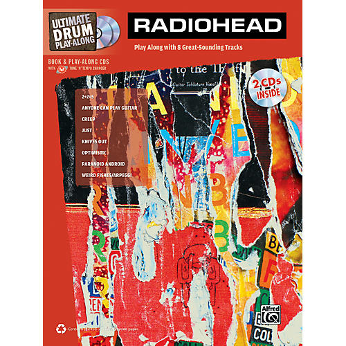 Alfred Radiohead Ultimate Play-Along Drum Book & 2 CDs