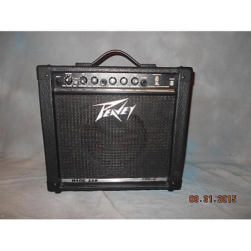 Peavey Rage 158 1X8 15W Black Guitar Combo Amp