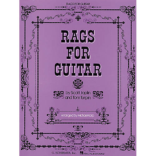 G. Schirmer Rags for Guitar Tab Songbook-thumbnail