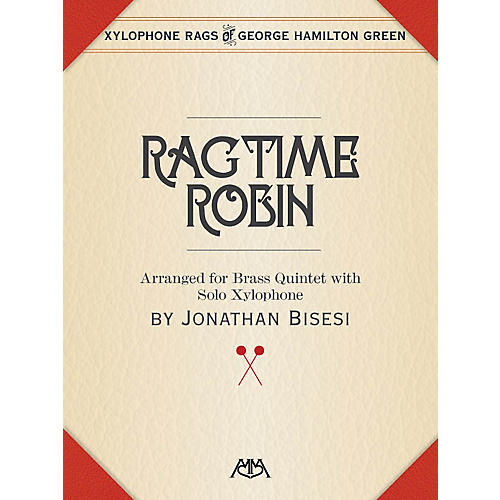 Meredith Music Ragtime Robin Meredith Music Percussion Series Book  by George Hamilton Green