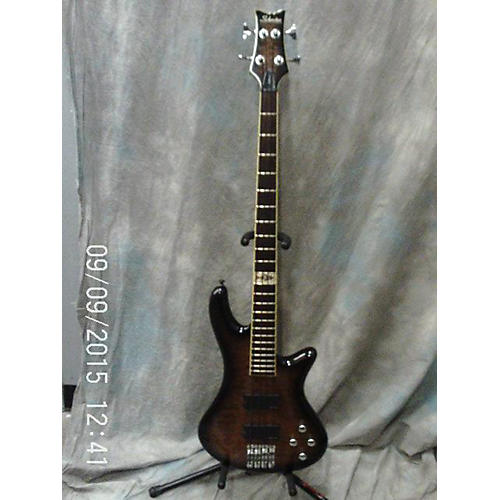 Schecter Guitar Research Raiden Elite 4 String Tobacco Burst Electric Bass Guitar