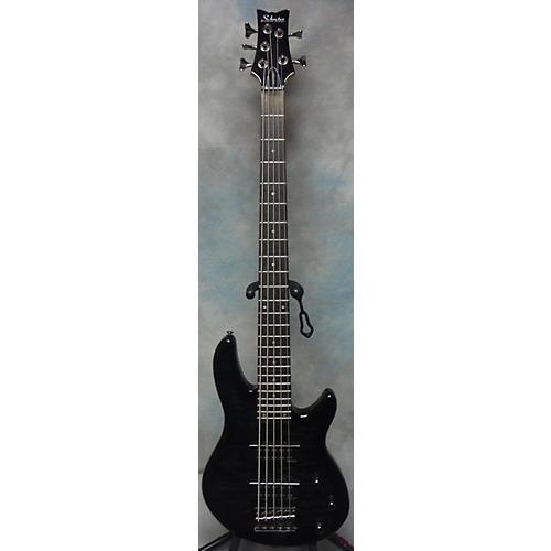Schecter Guitar Research Raiden Special 5 String Electric Bass Guitar Trans Black