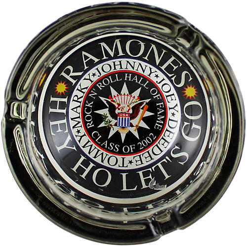 C&D Visionary Ramones Glass Ashtray