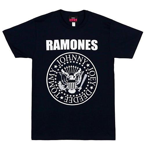 The Ramones Ramones Presidential Seal Men's Tee XX Large Black