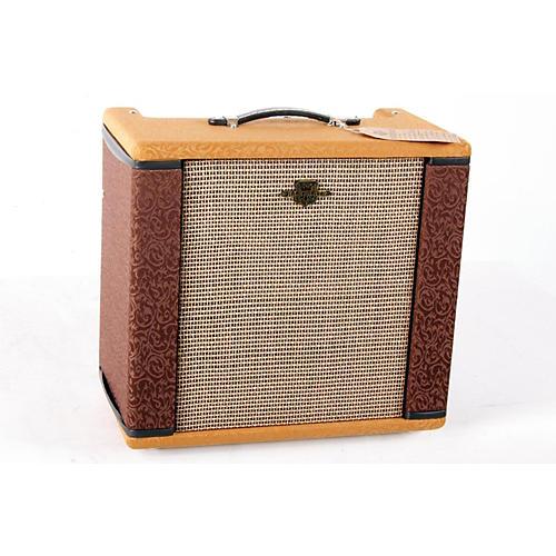 Fender Ramparte 9W 1x12 Dual-Channel Tube Guitar Combo Amp 2-Color Chocolate and Copper with Wheat Grille 888365235745