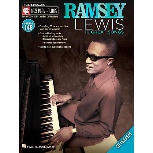 Hal Leonard Ramsey Lewis - Jazz Play-Along Volume 146 Book/CD
