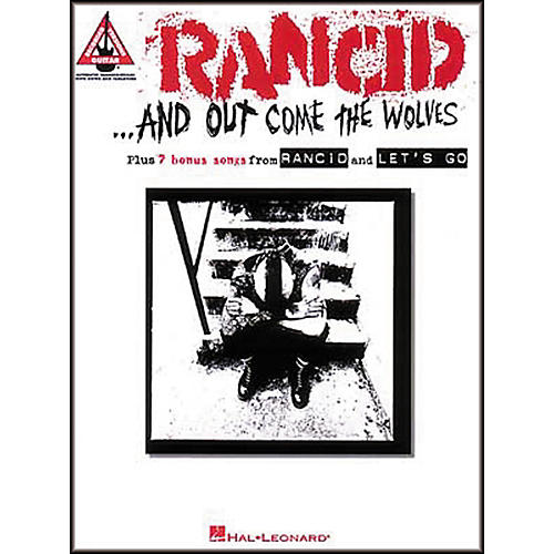 Hal Leonard Rancid And Out Come the Wolves Guitar Tab Songbook-thumbnail