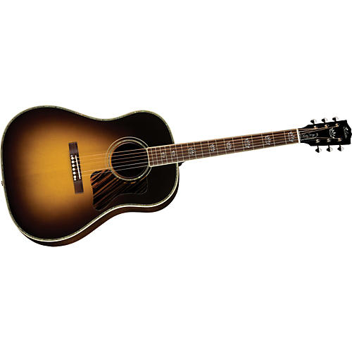 Gibson Randy Scruggs Signature AJ Advanced Jumbo Acoustic-Electric Guitar Vintage Sunburst