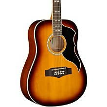Ranger XII Vintage Reissue 12-String Dreadnought Acoustic-Electric Guitar Honey Burst