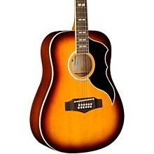 Ranger XII Vintage Reissue 12-String Dreadnought Acoustic Guitar Honey Burst