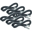 Rapco Horizon Lo-Microphone Cable 20 Feet 6-Pack (LZ-20 6-Pack KIT)