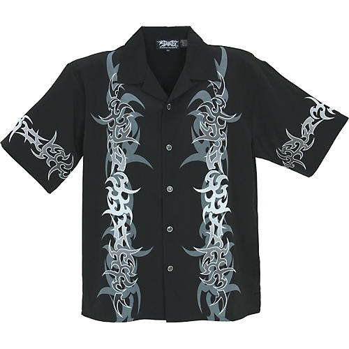 Dragonfly Clothing Company Rapture Tribal Design Woven Shirt-thumbnail