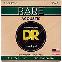 DR Strings Rare Phosphor Bronze Lite Acoustic Guitar Strings