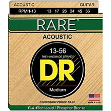 DR Strings Rare Phosphor Bronze Medium Heavy Acoustic Guitar Strings