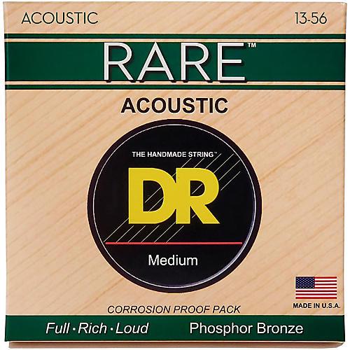 DR Strings Rare Phosphor Bronze Medium Heavy Acoustic Guitar Strings-thumbnail