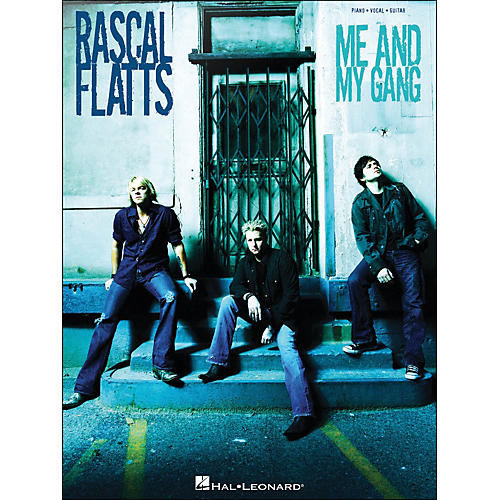 Hal Leonard Rascal Flatts Me And My Gang arranged for piano, vocal, and guitar (P/V/G)-thumbnail