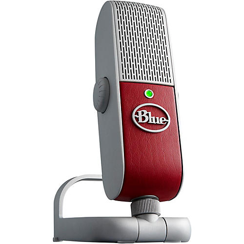 blue raspberry studio usb ios microphone with 200 in software guitar center. Black Bedroom Furniture Sets. Home Design Ideas