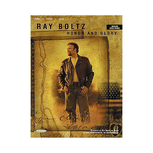 Word Music Ray Boltz - Honor and Glory Piano, Vocal, Guitar Songbook-thumbnail