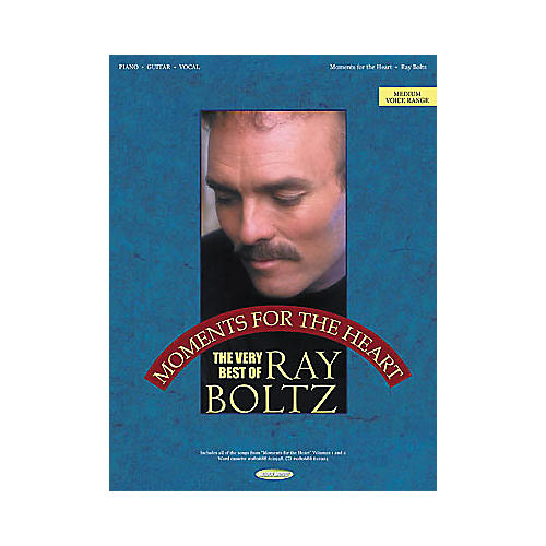 Word Music Ray Boltz - Moments for the Heart Piano/Vocal/Guitar Artist Songbook-thumbnail