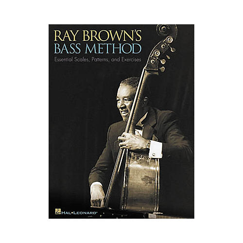Hal Leonard Ray Brown's Bass Method Book-thumbnail