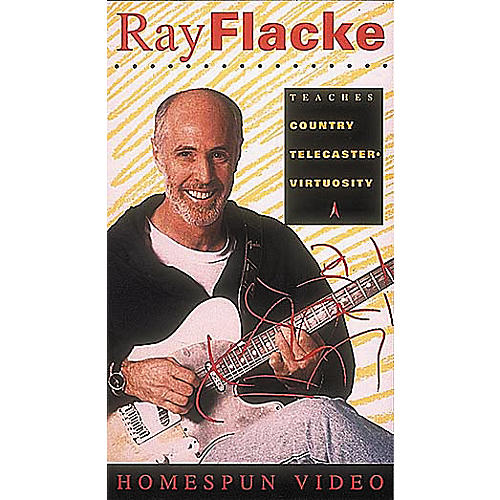 Homespun Ray Flacke Country Telecaster Virtuosity (VHS)-thumbnail