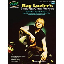 Hal Leonard Ray Luzier's Double Bass Drum Techniques - (Book/Video Online)