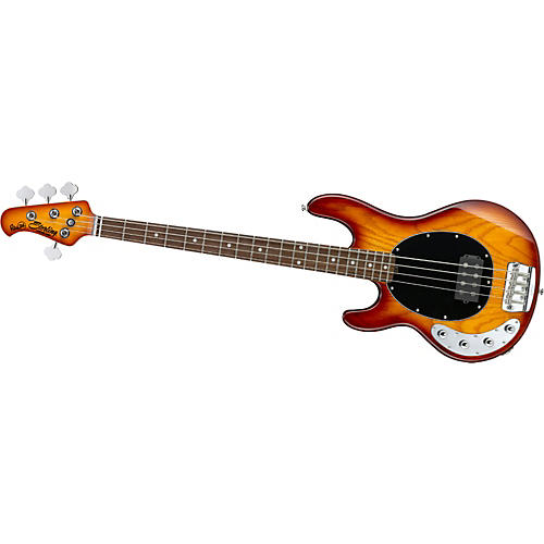 Sterling by Music Man Ray34 Left-Handed Electric Bass Guitar Honey Burst