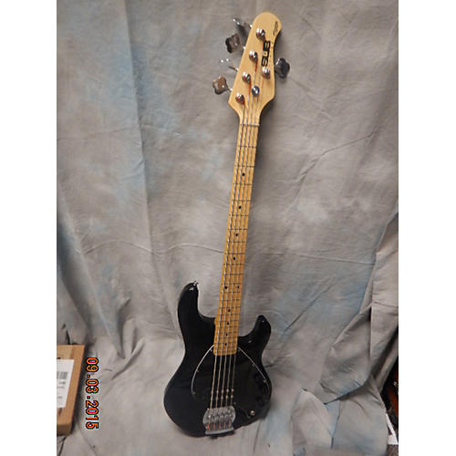 Ernie Ball Music Man Ray5 Black Electric Bass Guitar