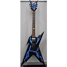 Dean Razorback DB Floyd Lightning Solid Body Electric Guitar