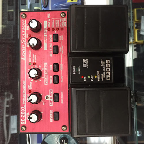Boss Rc-20xl Red Pedal-thumbnail
