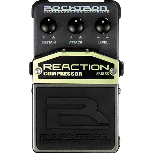 Rocktron Reaction Compressor Guitar Effects Pedal