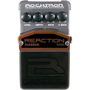 rocktron reaction flanger guitar effects pedal guitar center. Black Bedroom Furniture Sets. Home Design Ideas