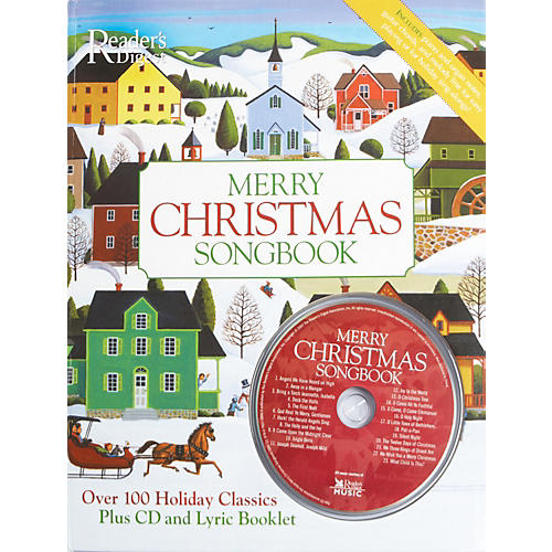 Alfred Reader's Digest Merry Christmas Songbook Hardcover Songbook & CD