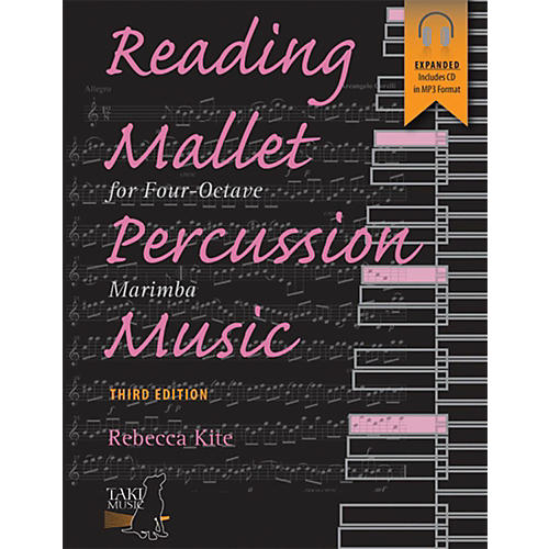 Alfred Reading Mallet Percussion Music For Four-Octave Marimba (Third Edition) Book & CD-thumbnail