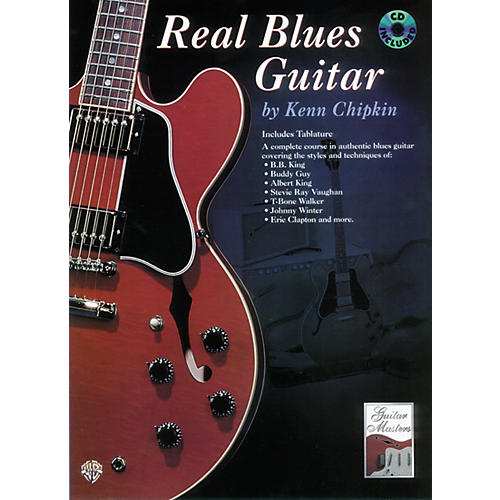 Alfred Real Blues Guitar Method Book with CD-thumbnail