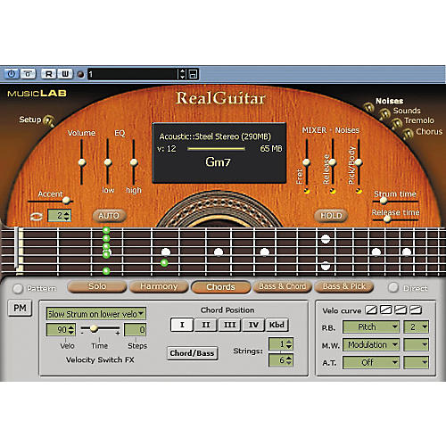 MusicLab RealGuitar 2L Sample-Based Virtual Instrument