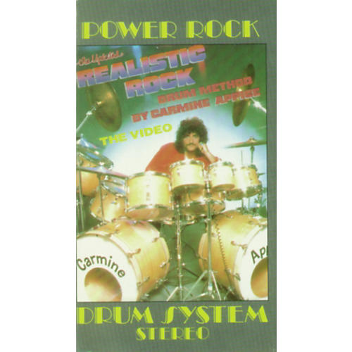 Alfred Realistic Rock Drum Method By Carmine Appice