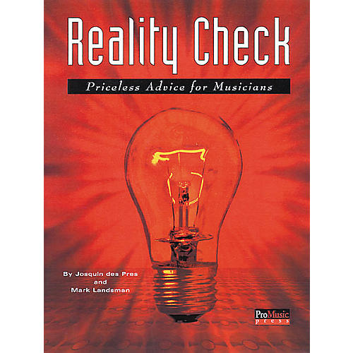 ArtistPro Reality Check - Advice for Musicians Book