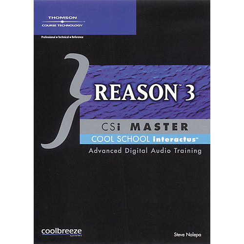 Course Technology PTR Reason 3 CSI Master (CD-ROM)