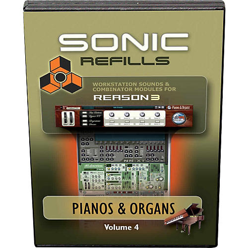 Sonic Reality Reason 3 Refills Vol. 04: Piano and Organs